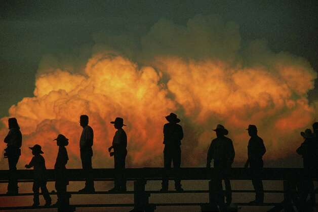 Rodeo, Nebraska, 1998. Photo by Joel Sartore/National Geographic Stock. Part of the  National Geographic Greatest Photographs of the American West  show opening at the Stark Museum of Art. Photo: Courtesy