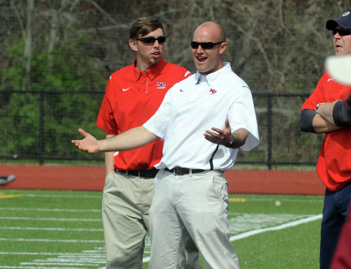 New Canaan boys lacrosse coach Alex Whitten stepped down Tuesday. Whitten is moving to Virginia, taking over a high school and youth program.