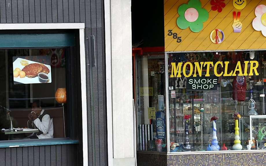 A medical marijuana shop soon will be opening on the main drag of Montclair., N.J., a suburb of Manhattan. Photo: Julio Cortez, Associated Press