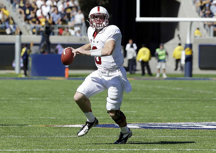 Stanford's Kevin Hogan had run several plays out of the 'Hogan Package' but didn't pass out of it until surprising Cal in the Big Game. Photo: Marcio Jose Sanchez, Associated Press