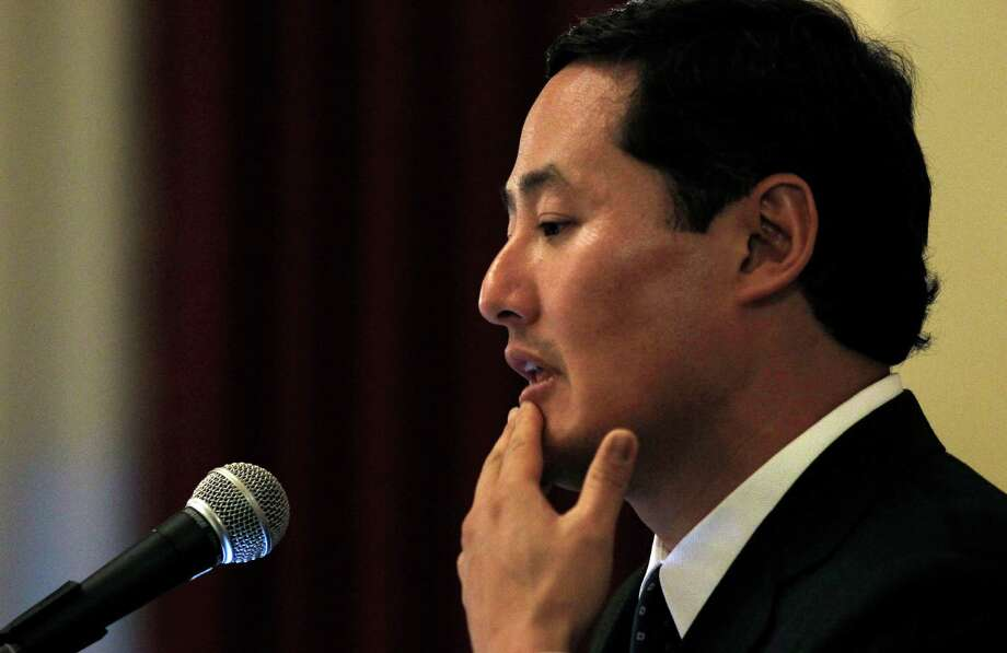 John Yoo, a UC Berkeley law professor and former Bush administration lawyer, wrote a memo in 2002 declaring that the president could legally authorize torture in wartime. Photo: Michael Macor / The Chronicle / SFC