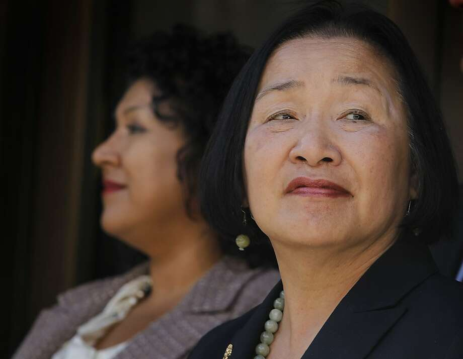 "Mayor Jean Quan described the city's bond indebtedness as ""like a mortgage."" Photo: Paul Chinn, The Chronicle"