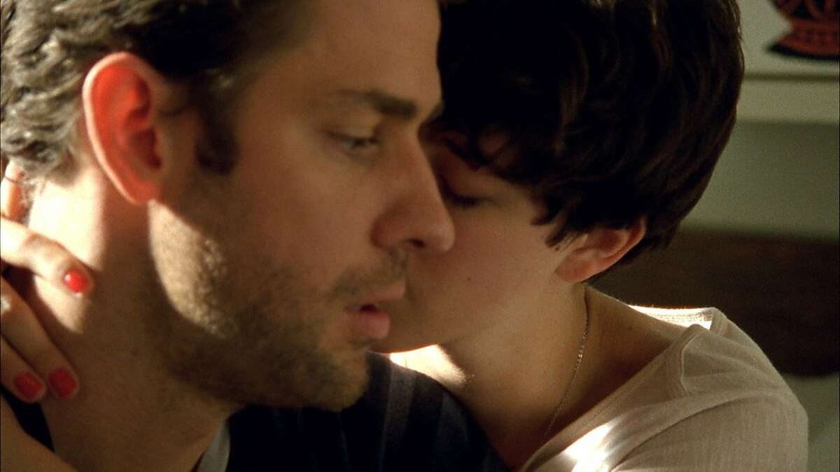 John Krasinski and Olivia Thirlby in NOBODY WALKS, a Magnolia Pictures release.