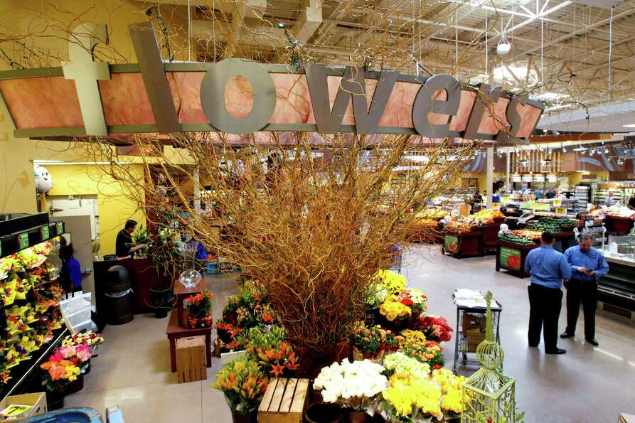 The floral section of the new Kroger on Studemont is shown Wednesday, Oct. 24, 2012, in Houston. The
