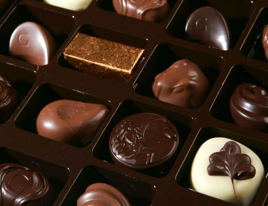 TRUE OR FALSE:You have to eat a lot of chocolate every day to reap its health benefits. Photo: JOHN THYS, . / 2007 AFP
