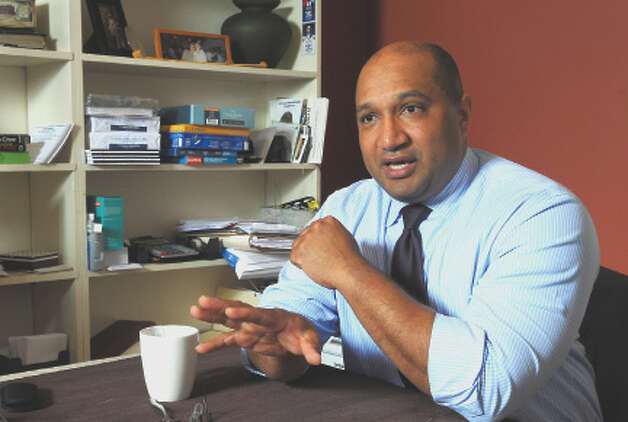 Albany County District Attorney David Soares talks about his reelection campaign, on Tuesday May 15, 2012 in Albany, NY.   (Philip Kamrass / Times Union ) Photo: Philip Kamrass