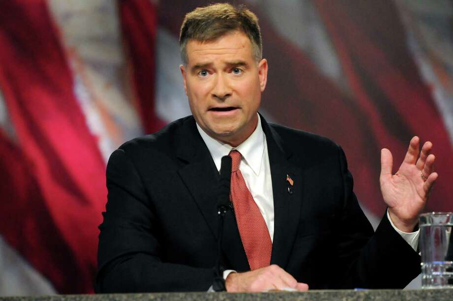 Rep. Chris Gibson participates in the 19th Congressional District debate on Thursday, Oct. 18, 2012, at WMHT Studios in North Greenbush, N.Y. (Cindy Schultz / Times Union) Photo: Cindy Schultz / 00019728A