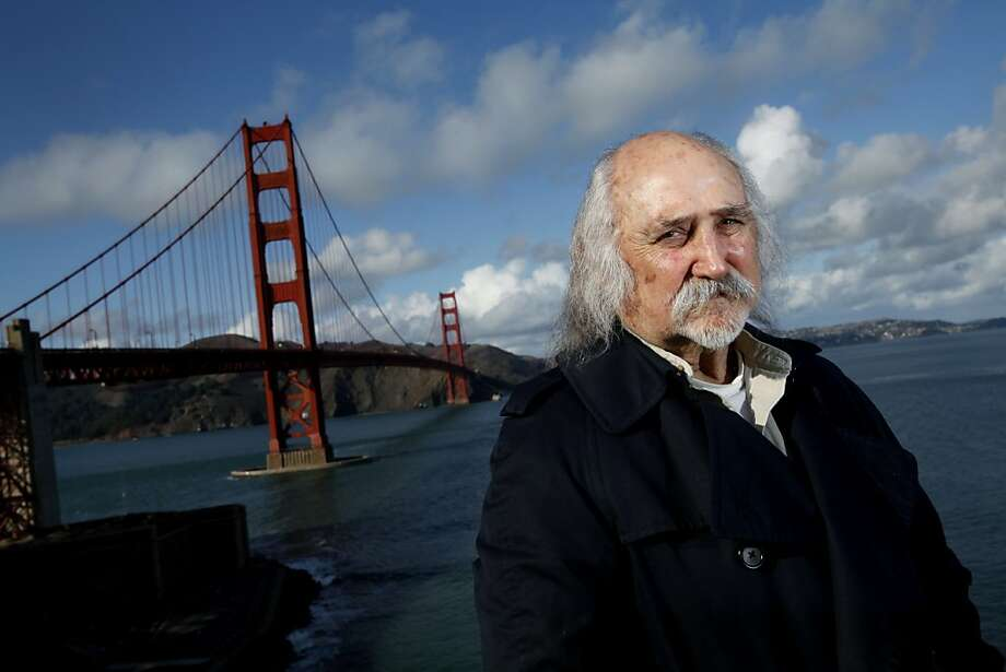 """Ned Kopp, a veteran Bay Area film man, was the location manager for the James Bond film """"A View to a Kill,"""" shot in San Francisco. Photo: Sarah Rice, Special To The Chronicle"""