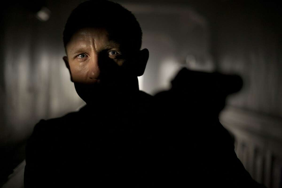 """Daniel Craig in the James Bond movie """"SKyfall."""" Daniel Craig stars as James Bond in Metro-Goldwyn-Mayer Pictures/Columbia Pictures/EON Productions' action adventure SKYFALL."""