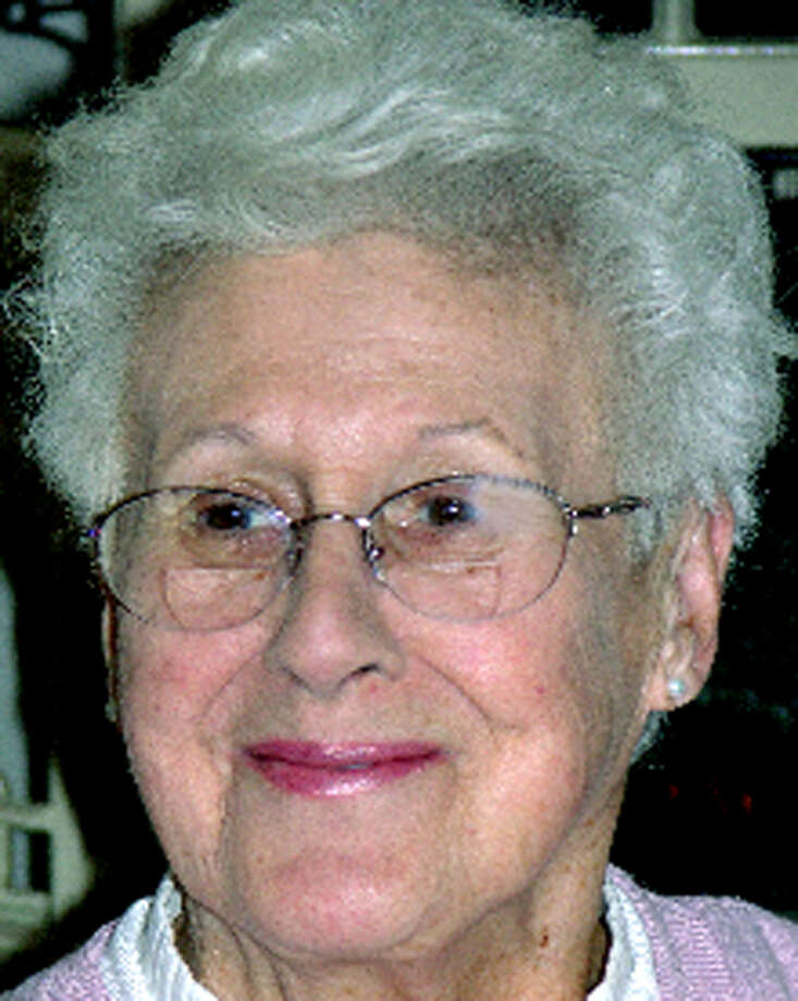Frances L. Kershaw, 86, of New Milford, died Oct. 17 2012, in  Mystic, where she was living with her daughter, Mary Olmsted, and her husband, Dwight. She was the widow of Robert A. Kershaw. Photo: Contributed Photo