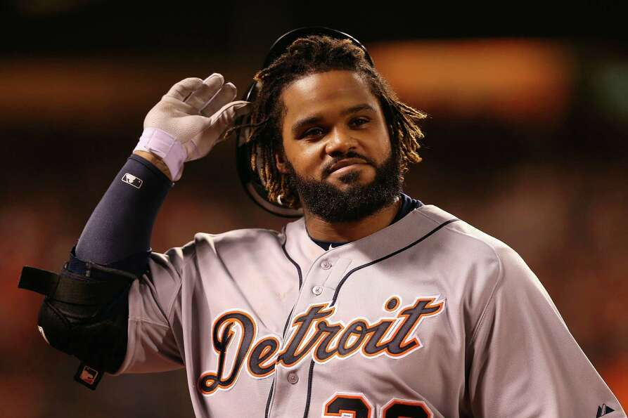 SAN FRANCISCO, CA - OCTOBER 24:  Prince Fielder #28 of the Detroit Tigers walks back to the dugout a