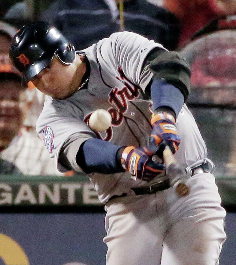 Return of the Triple CrownDetroit Tigers third baseman Miguel Cabrera  became baseball's first Triple Crown winner in 45 years, after batting .330 with 44 home runs and 139 RBIs on the way to the AL Most Valuable Player award. Photo: Charlie Riedel, Associated Press / AP
