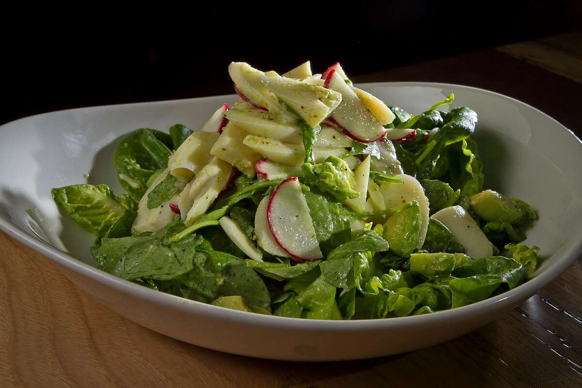 Hearts of Palm Salad at Lolinda Steakhouse in San Francisco, Calif., is seen on Friday, October 19th, 2012.