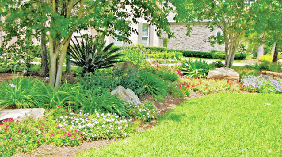 This cottage garden was created by the designers at Grand Gardens.
