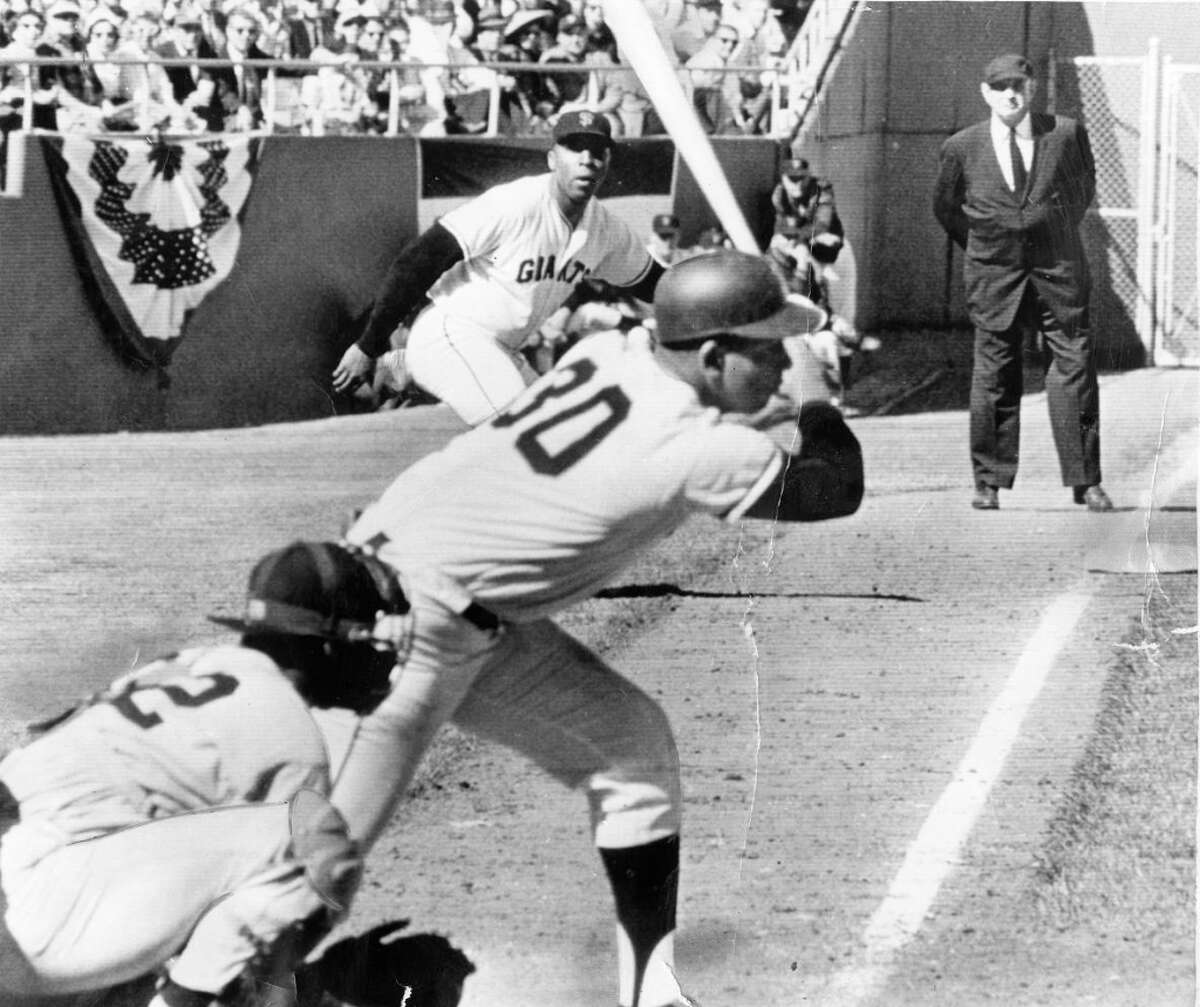 THE 1962 WORLD SERIES: The Giants had only been in San Francisco since 1959 and they were already playing in the Fall Classic, and a classic it was with SF losing in the seventh game in a 1-0 thriller.