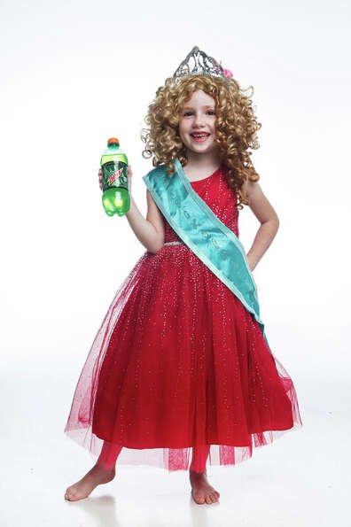 Hazel Britton-Dansby is Honey Boo-Boo, Monday, Oct. 22, 2012, in Houston. ( Michael Paulsen / Housto