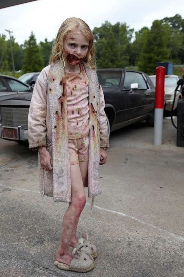 "Little Zombie Girl, ""The Walking Dead."" AMC"