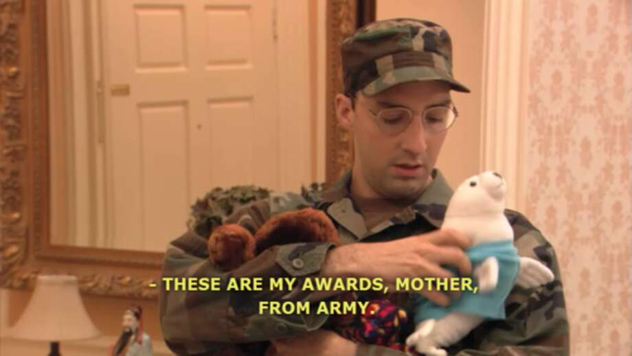 """Buster Bluth from """"Arrested Development."""""""