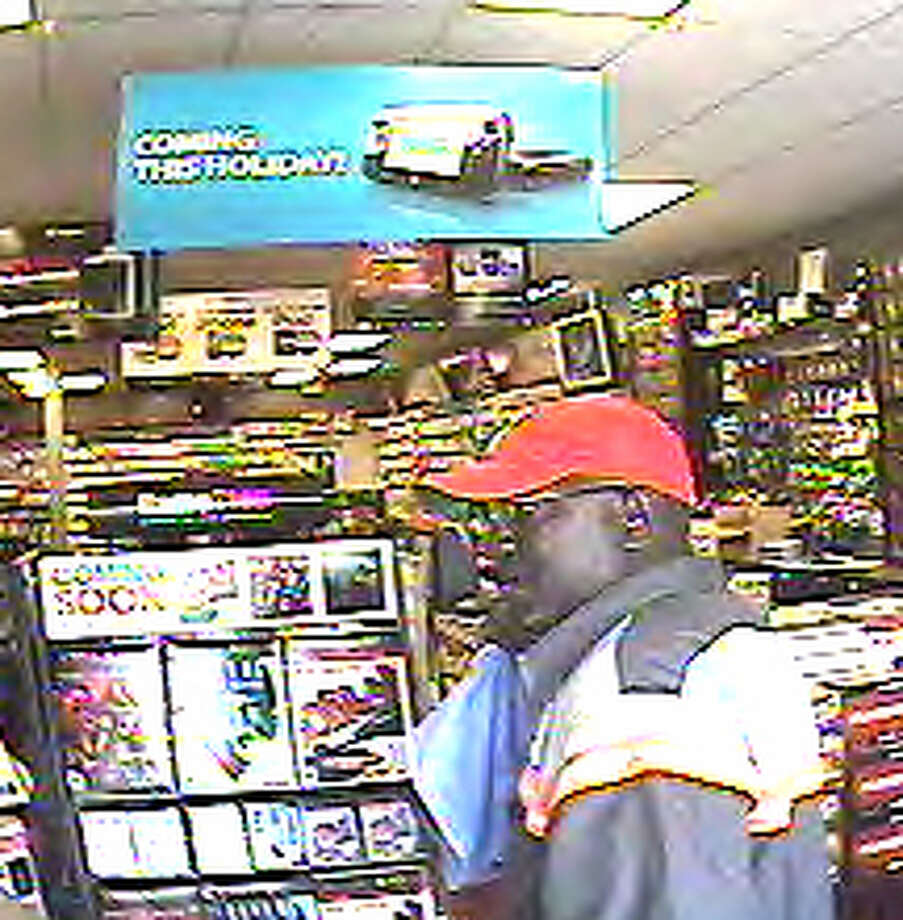 Photo from surveillance video of suspect in Game Stop robber at 11807 Westheimer on Sept. 17. | Crime Stoppers photo Photo: Crime Stoppers Photo