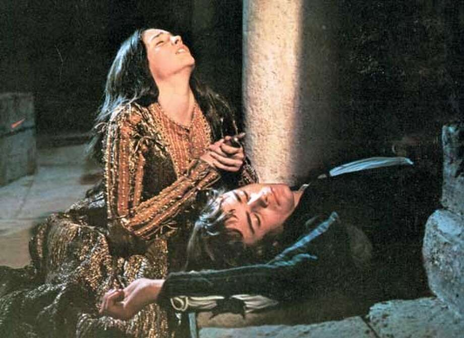 """Romeo and Juliet,"" starring Olivia Hussey and Leonard Whiting. (waterfront dude)"