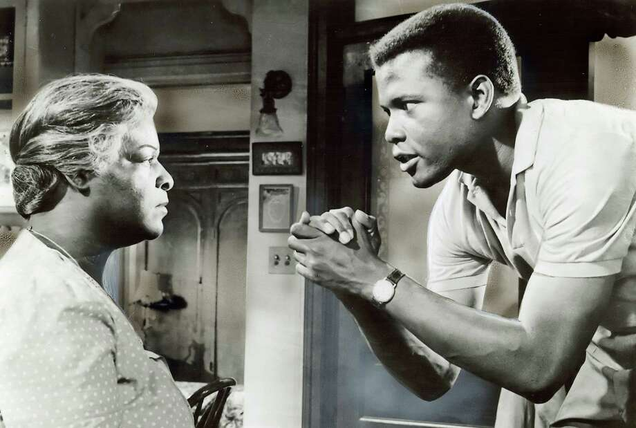 "1961 - Claudia McNeil and Sidney Poitier in the movie ""A Raisin in the Sun.""  Should not be overlooked. Photo: Columbia Pictures, SF Chronicle File 1961 / SFC"