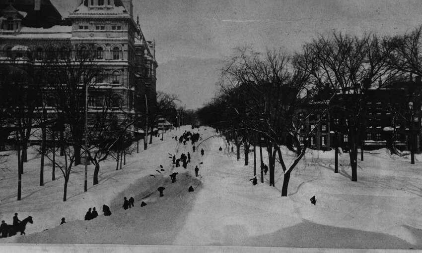 March 11-14, 1888: The greatest blizzard in Capital Region history dropped 46.7 inches of snow on Albany.