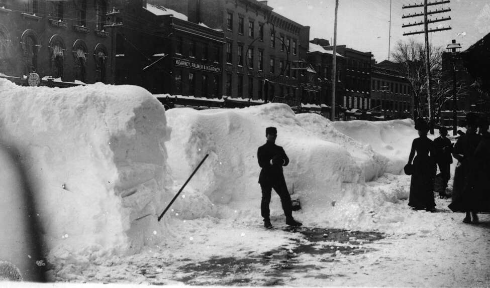 March 11-14, 1888: Three inches of snow fell on the March 11, 15 inches more by daybreak on the March 12, 33 inches by midnight on March 13, and then one more foot before snow stopped falling at 3 a.m. on March 14.