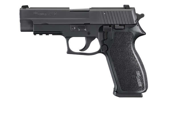 A Sig Sauer semi-automatic pistol was used in the Sandy Hook shootings. Photo: Contributed Photo