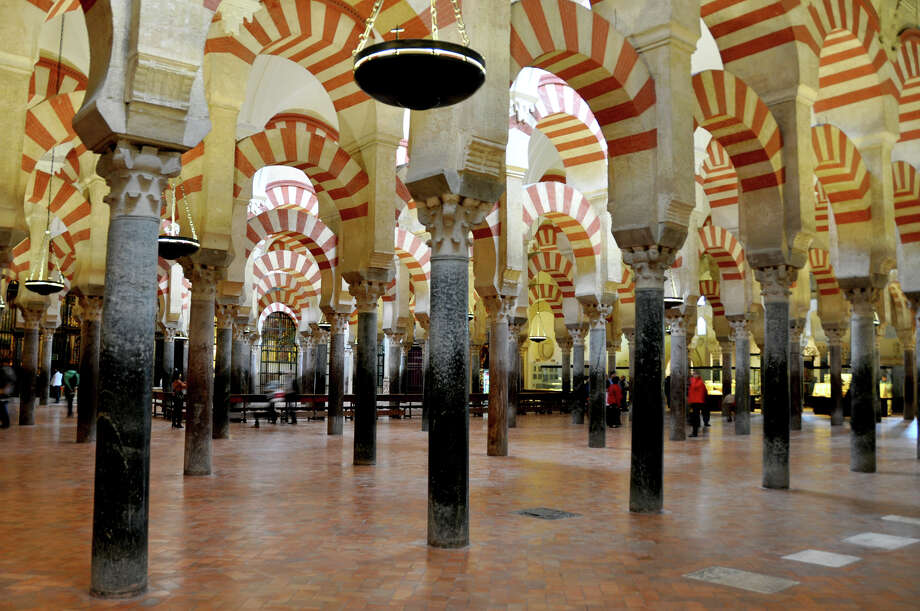 Although Cordoba's Mezquita is a vast space, its low ceilings and dense columns created an intimate place of worship. Photo: Cameron Hewitt, Ricksteves.com