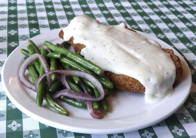 Chicken fried steak at My Place Bar & Grill, which is what a Texas country diner should be. (San Antonio Express-News)