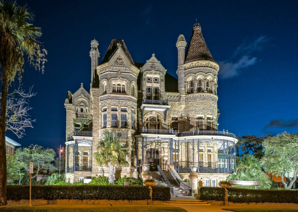The grand Bishop's Palace in Galveston is part of the city's rich history, which sometimes lends itself to tales of the unexpected.
