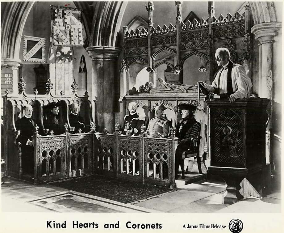 "Alec Guinness in ""Kind Hearts and Coronets"": a Death Row hit. Photo: Eagle-Lion Films Inc., SFC"