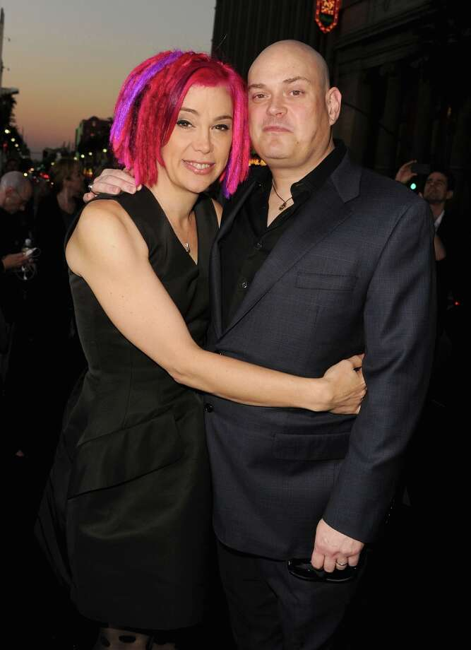 "Directors Lana Wachowski and Andy Wachowski arrive at Warner Bros. Pictures' ""Cloud Atlas"" premiere at Grauman's Chinese Theatre on October 24, 2012 in Hollywood, California. Photo: Kevin Winter, Getty Images / 2012 Getty Images"