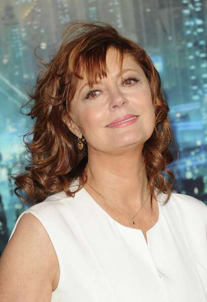 Actress Susan Sarandon arrives at Warner Bros. Pictures' 'Cloud Atlas' premiere at Grauman's Chinese