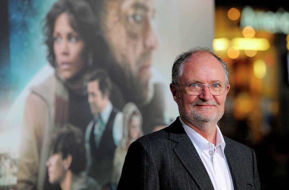 "Jim Broadbent, a cast member in ""Cloud Atlas,"" poses  for reporters at the premiere of the film at Grauman's Chinese Theatre on Wednesday, Oct. 24, 2012, in Los Angeles. Photo: Chris Pizzello, Associated Press / Invision"