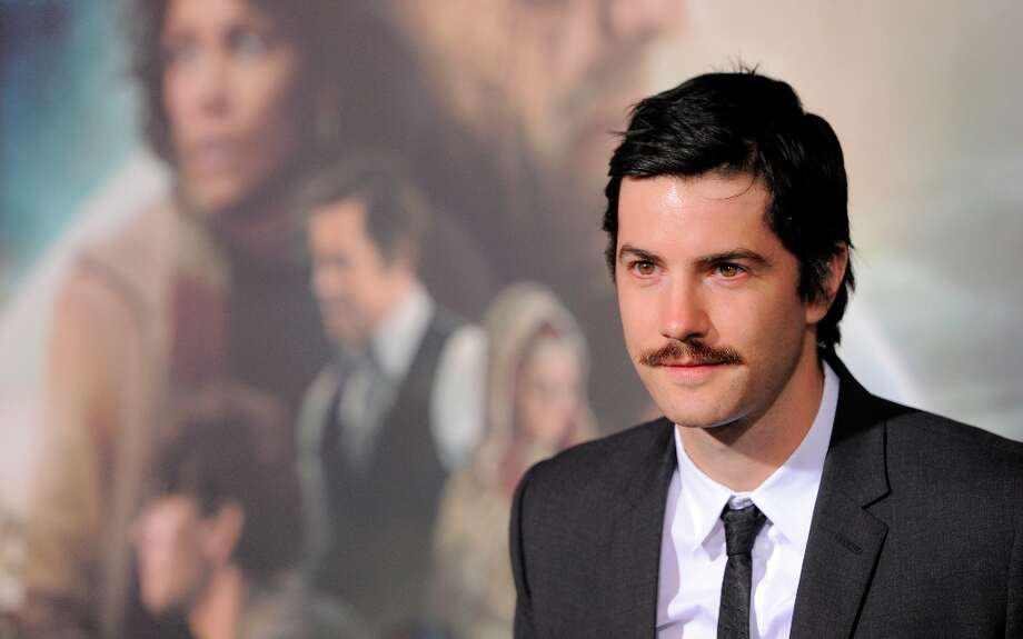 "Jim Sturgess, a cast member in ""Cloud Atlas,"" poses for reporters at the premiere of the film at Grauman's Chinese Theatre on Wednesday, Oct. 24, 2012, in Los Angeles. Photo: Chris Pizzello, Associated Press / Invision"