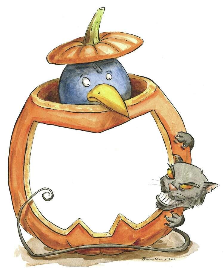 Trick or Tweet illustration by Tyswan Stewart/Times Union / Tyswan Stewart/Times Union