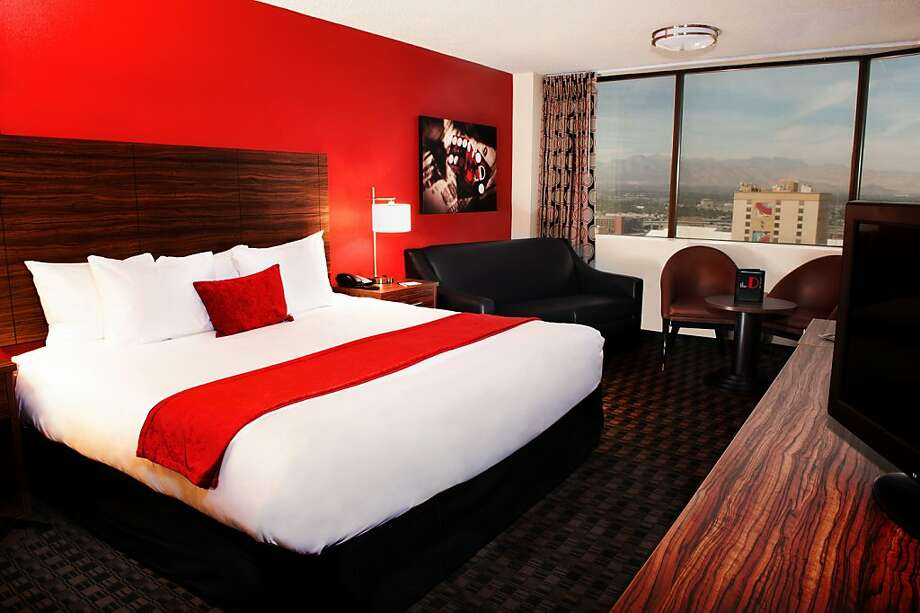 The new D Las Vegas offers 624 guestrooms in the city's up-and-coming-again downtown. Photo: David Tingey, D Las Vegas