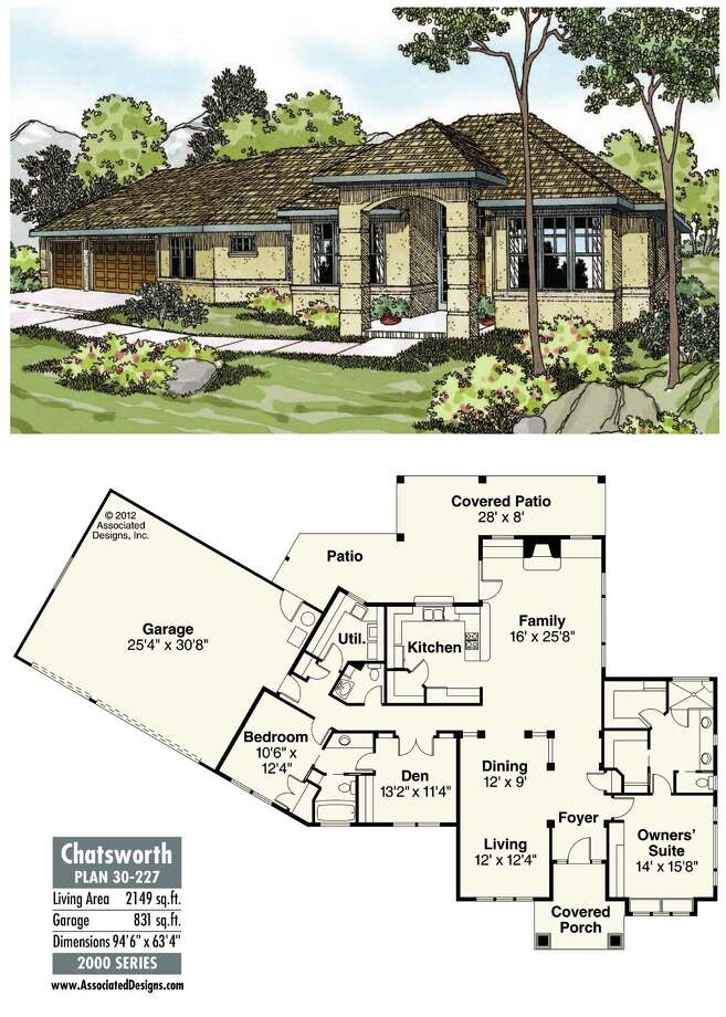 Chatsworth Plan 30-227