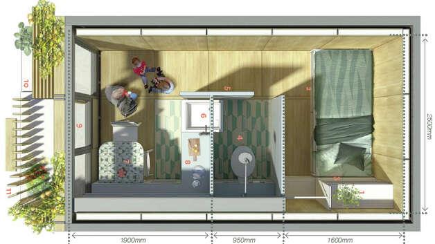 Levitt bernstein garajes transformados en viviendas for Garajes metalicos en bolivia