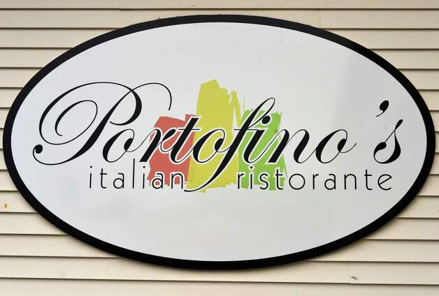 Sign outside Portofino's Ristorante at the Travelodge in Latham Wednesday Oct. 24, 2012.  (John Carl D'Annibale / Times Union) Photo: John Carl D'Annibale / 00019749A