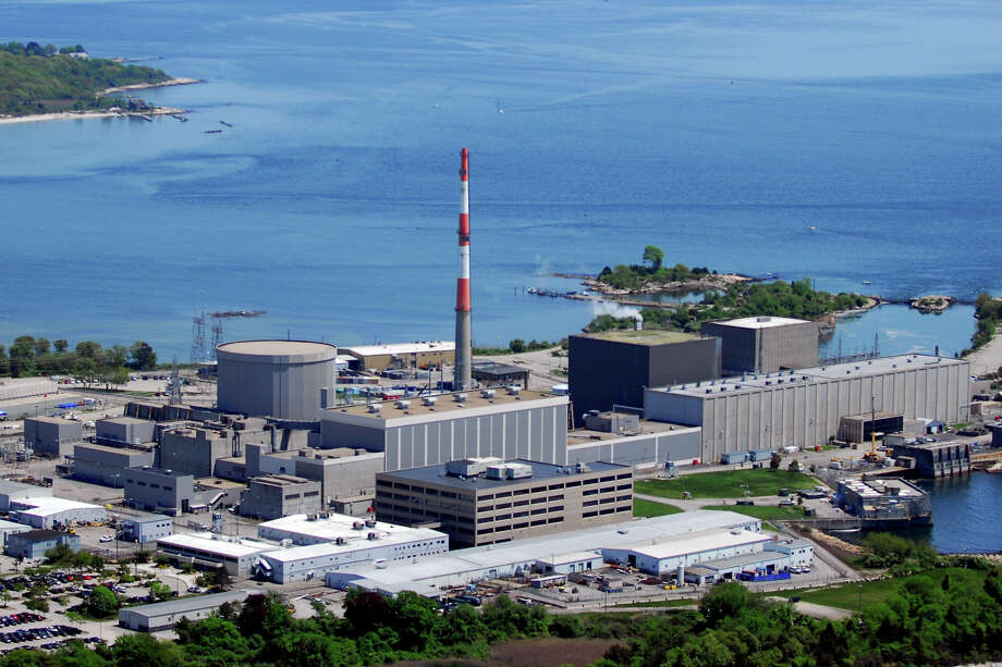 Millstone Nuclear Power Plant in Waterford, Conn. May 27th, 2011. Photo: Morgan Kaolian AEROPIX / Connecticut Post contributed