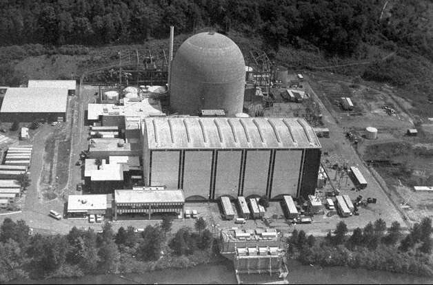 This is an undated handout photo of the Connecticut Yankee nuclear power plant in Haddam Neck, Conn. Photo: AP File Photo / NORTHEAST UTILITIES