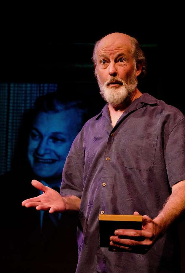 "Warren David Keith is Ram Dass in Lynne Kaufman's ""Acid Test"" at the Marsh in Berkeley. Photo: Phyllis Christopher"