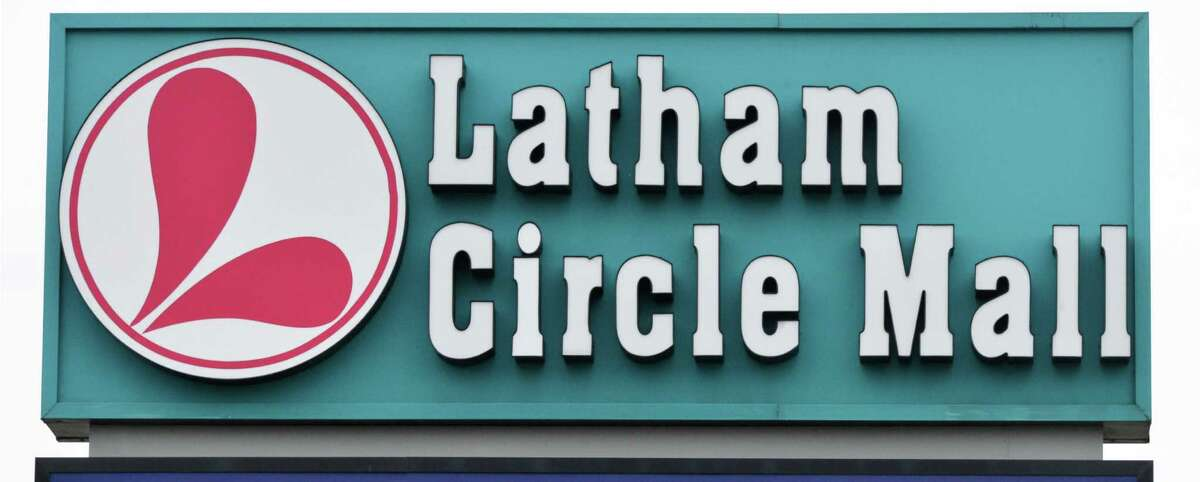 Sign at Latham Circle Mall in Colonie Thursday Oct. 25, 2012. (John Carl D'Annibale / Times Union)