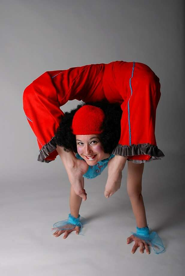 Ember Bria has performed at San Francisco Circus Center. Photo: Seth Golub, Info@circuscenter.org