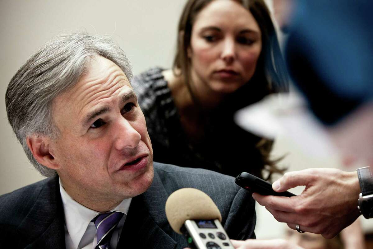 """Texas Attorney General Greg Abbott was """"just showing his bona fides as a conservative,"""" a Rice University prof said."""