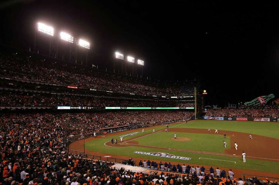 Most checked-in placesNo. 3 - AT&T Park, where the San Francisco Giants play Photo: Ezra Shaw, Getty Images / Getty Images North America