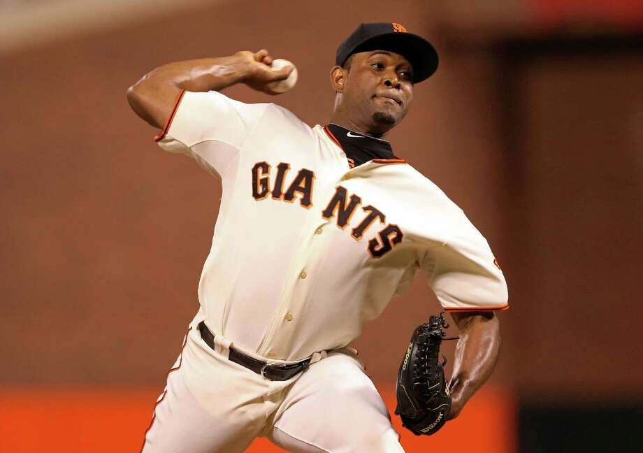 1. SantiagoSan Francisco Giants pitcher Santiago Castilla  Photo: Christian Petersen, Getty Images / Getty Images North America