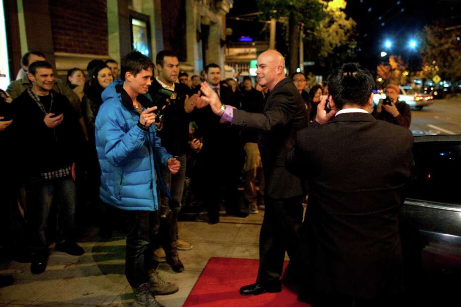 Actor Edward Michael Scott  exits his limo during the premiere of the locally-filmed movie Matt's Chance on Thursday, October 25, 2012 at the Egyptian Theater in Seattle. Photo: JOSHUA TRUJILLO / SEATTLEPI.COM